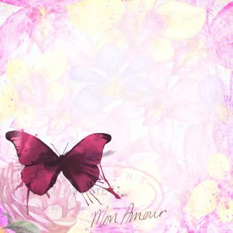 Pink Butterfly - Free Stock Photo