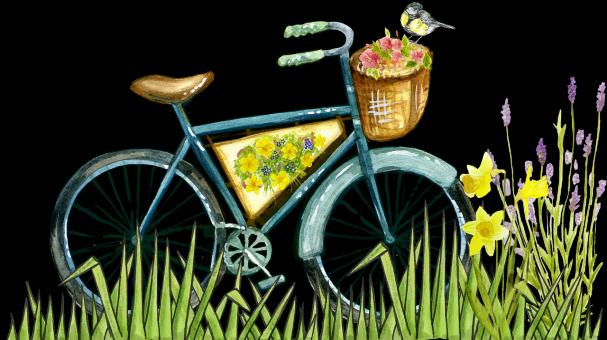 Bicycle Painting - Free Stock Photo
