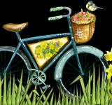 Free Photo - Bicycle Painting