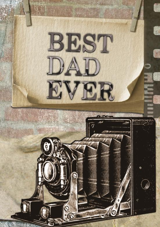Free Stock Photo of Best Dad Created by Pixabay