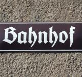 Free Photo - Bahnhof Sign