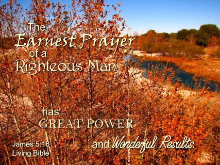 Earnest Prayer Gives Good Results - Free Stock Photo