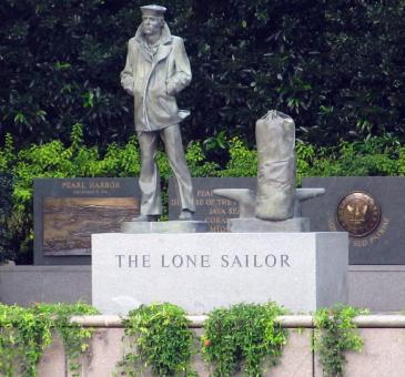 The Lone Sailor - Free Stock Photo