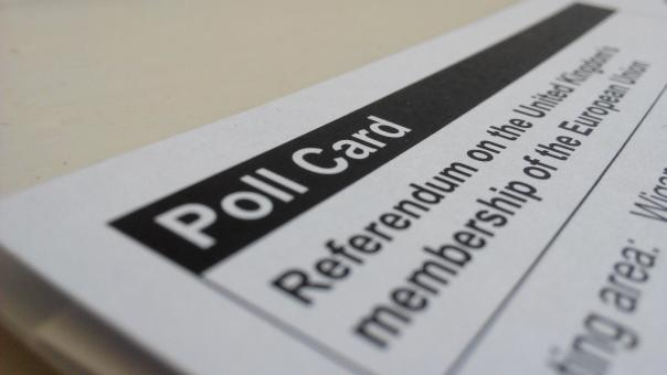 Polling card for an election - Free Stock Photo