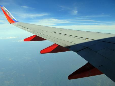 Plane Wing - Free Stock Photo