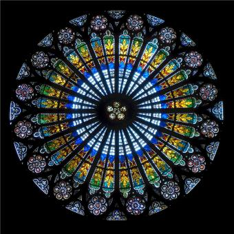 Rose Window - Free Stock Photo