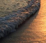 Free Photo - Ocean Waves at Sunset
