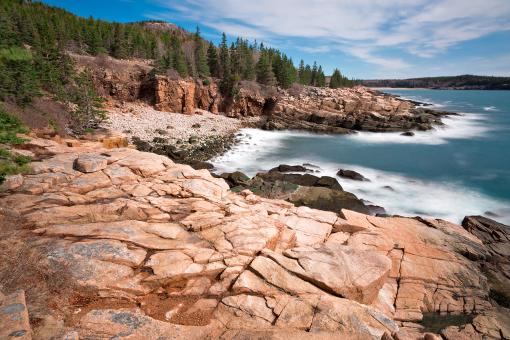 Acadia National Park - Thunder Hole - Free Stock Photo