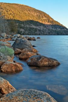 Jordan Pond - HDR - Free Stock Photo