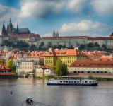 Free Photo - Prague Castle view from the Charles Bridge in Prague