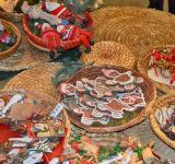 Free Photo - Christmas cookies and toys at Christmas market in Germany