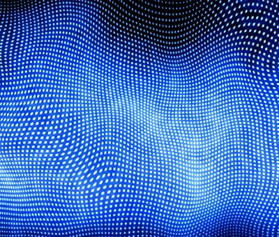 Blue Dotted background - Free Stock Photo
