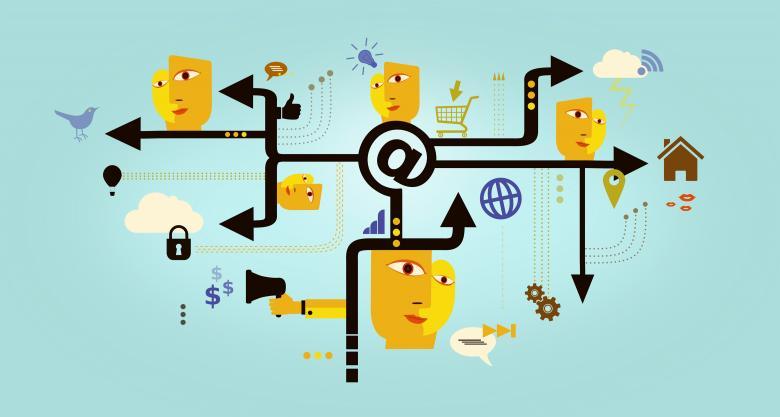 Establishing a Client Base On-Line - Free Business Illustrations