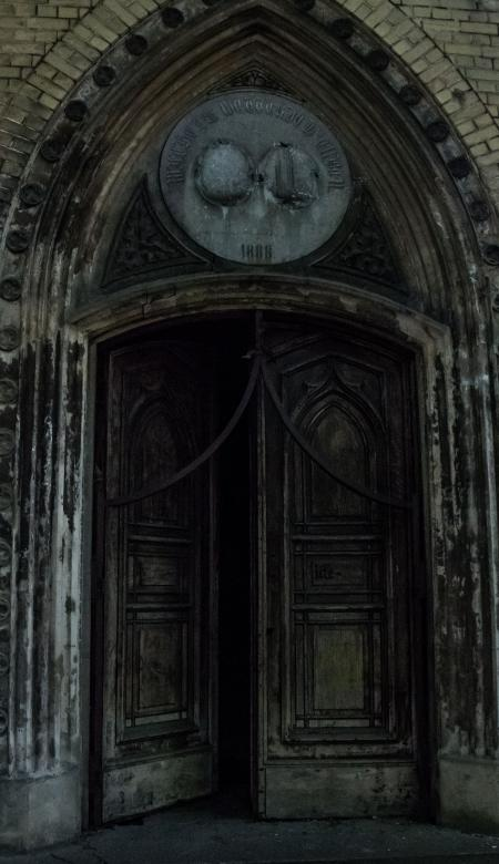 Free Stock Photo of Doors to horror Created by Janis Urtans