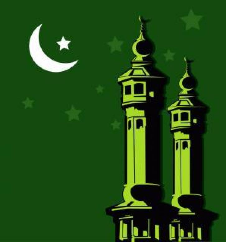 Free Stock Photo of Mosque Vector Illustration Created by maa illustrations