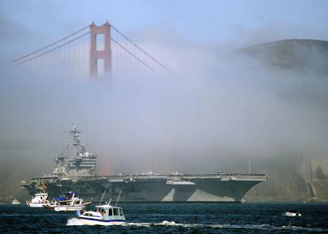 Aircraft Carrier - Free Stock Photo