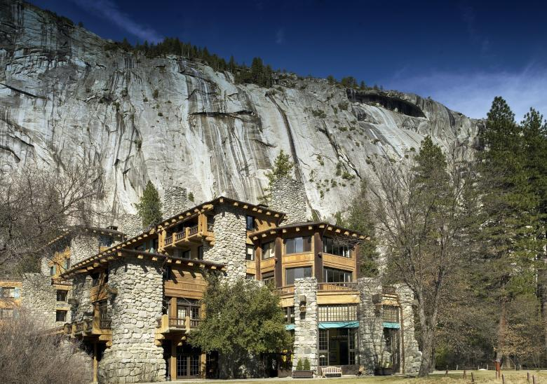 Free Stock Photo of Ahwahnee Hotel Created by Pixabay