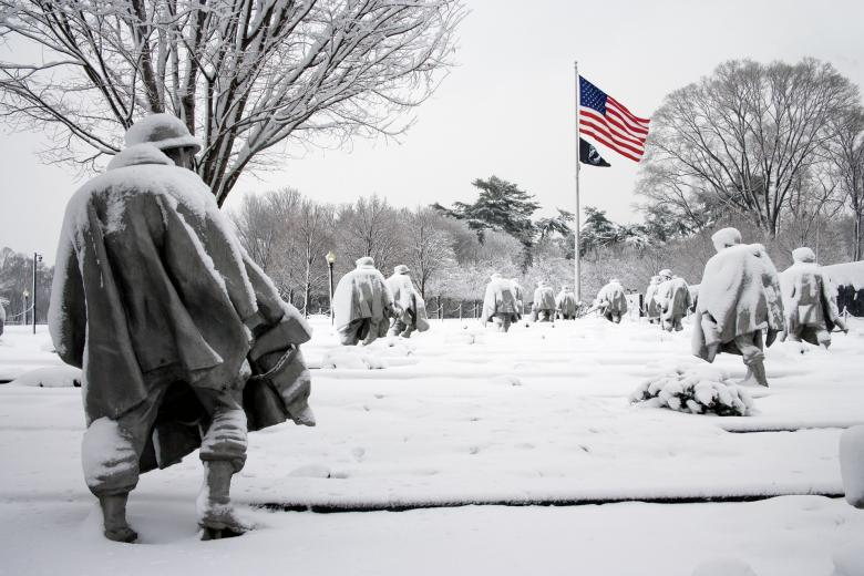 Free Stock Photo of Korean War Memorial Created by Pixabay