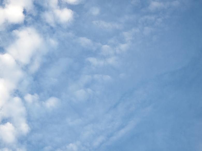 Free Stock Photo of Blue Sky and Fluffy White Clouds Created by Ivan