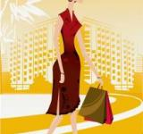 Free Photo - Lady walking with shopping bag