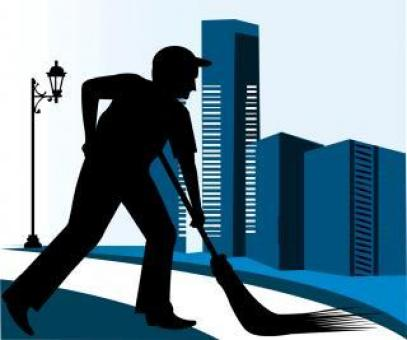 Cleaner	Vector Illustration - Free Stock Photo