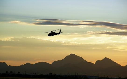 Military Helicopter - Free Stock Photo
