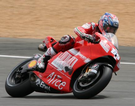 Motorcycle Racer - Free Stock Photo