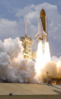Space Shuttle Liftoff - Free Stock Photo