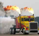 Free Photo - Custom Jet Propelled Truck