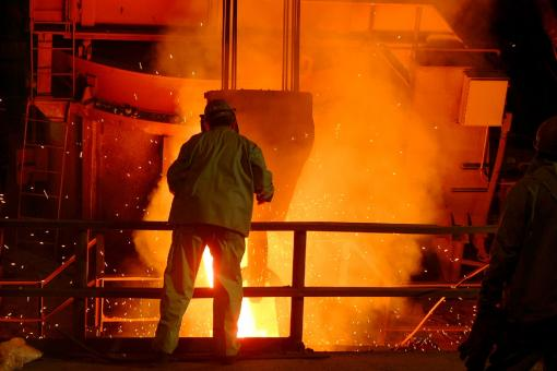 Steel Mill - Free Stock Photo