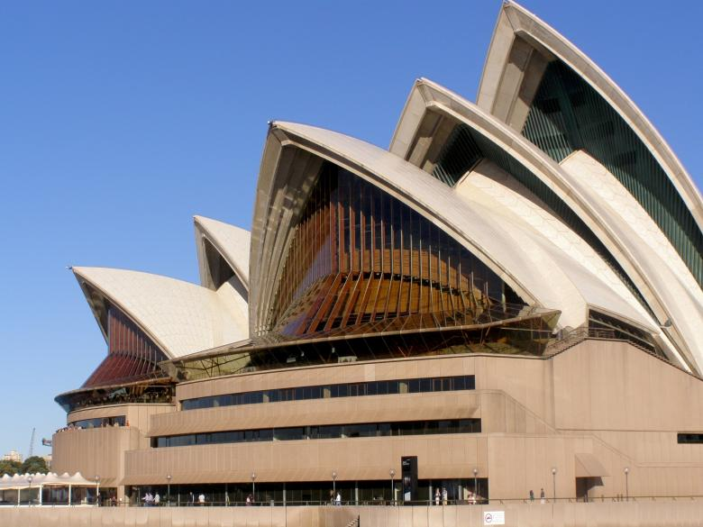 Free Stock Photo of Sydney Opera House Created by Pixabay