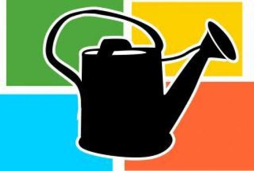 Watering Can Illustration - Free Stock Photo