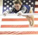 Free Photo - Gymnast Practicing