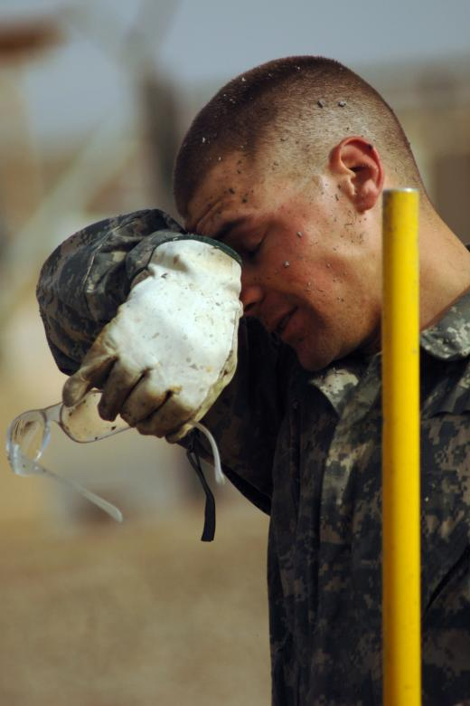Free Stock Photo of Military Worker