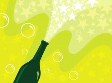 Champagne Vector Illustration - Free Stock Photo