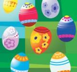 Free Photo - Easter Eggs Illustration