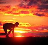 Free Photo - Healthy Young Runner at Sunrise
