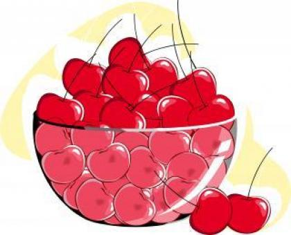 Cherries	 Vector Illustration - Free Stock Photo