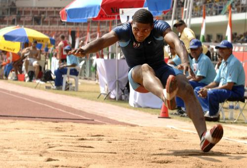 Long Jump Competition - Free Stock Photo