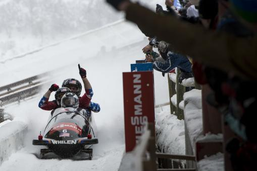 Bobsled Race - Free Stock Photo