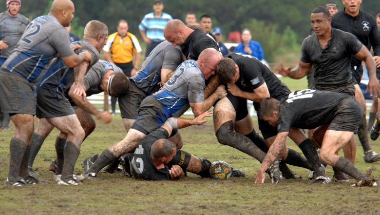Free Stock Photo of Rugby Match Created by Pixabay