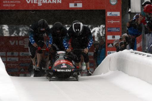 Bobsled Racing - Free Stock Photo