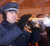 Free Photo - Trumpeter in the Rain
