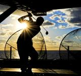 Free Photo - Golfing in the Middle of the Ocean