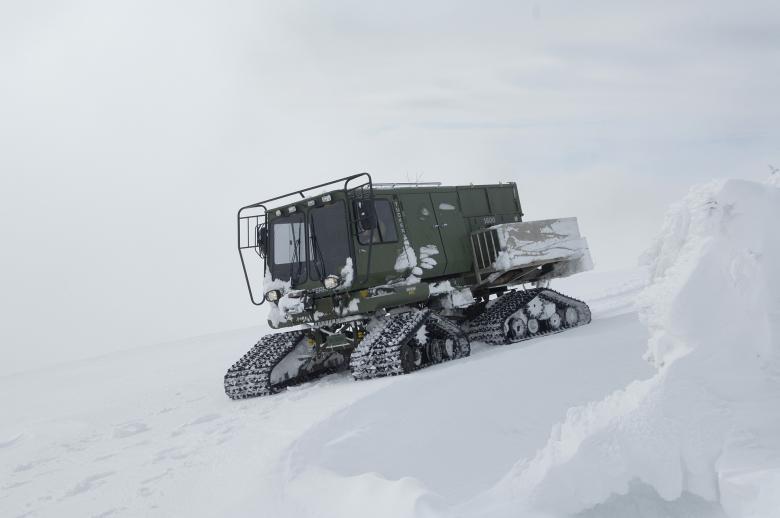 Frozen Snowmobile - Free Winter Stock Photos