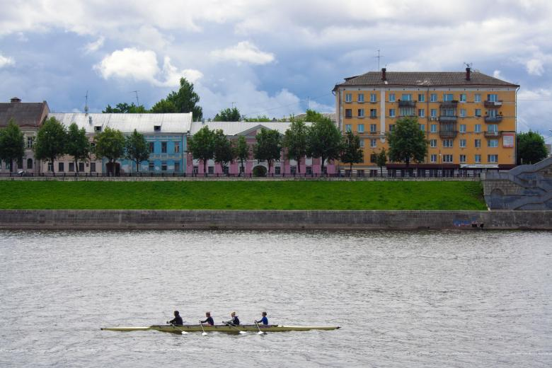 Free Stock Photo of Rowers in Tver Created by 2happy