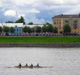 Free Photo - Rowers in Tver