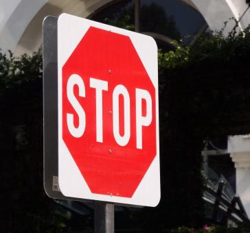 Stop Sign - Free Stock Photo