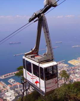Cable Car Ride - Free Stock Photo