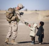 Free Photo - Soldier with Kids